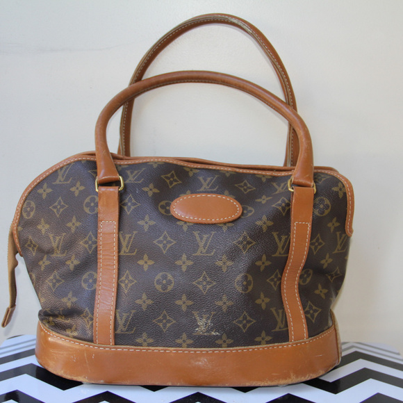b7253fbd9fad Louis Vuitton Handbags - Rare Louis Vuitton French Co Small Dog carrier70s